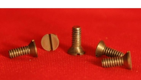 Metric Size Flat Head Molybdenum Screws