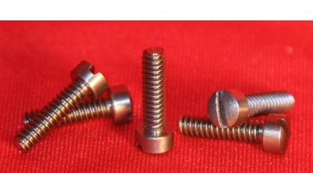 Metric Size Fillister Head Tantalum Screws