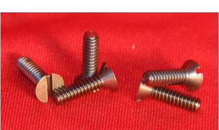 Inch Size Flat Head Tantalum Screws