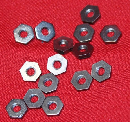 Inch Size Hex Molybdenum Nuts