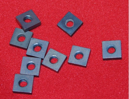 Inch Size Square Molybdenum Nuts